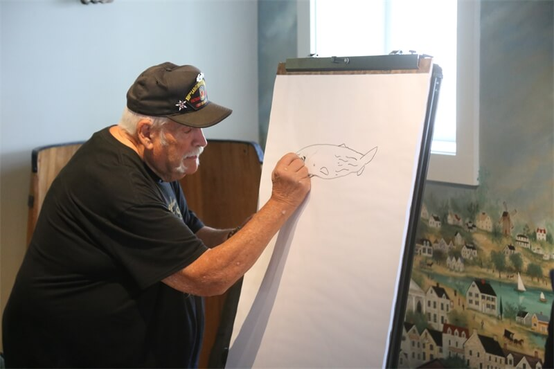 Drawn to Whales with Don Sineti