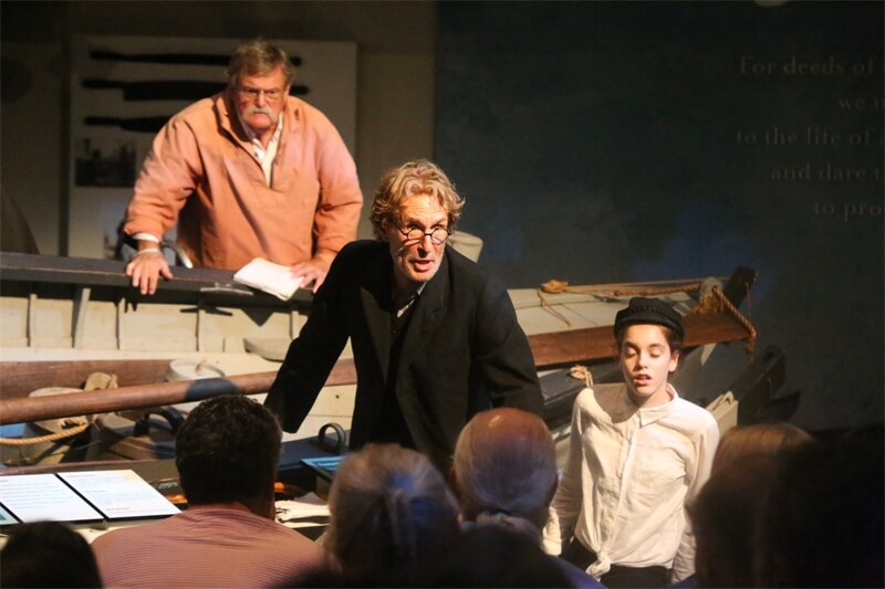 Moby-Dick Rehearsed