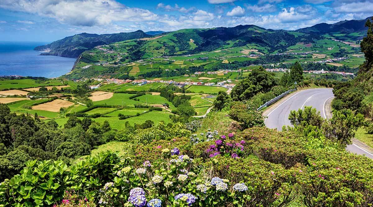 Azores Landscape for NHA Explorations Trip