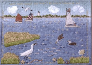 Embroidered Narratives by Susan Boardman