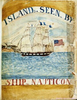 Susan Veeders Journal of the Ship Nauticon Exhibit