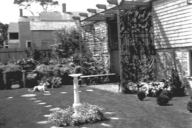Greater Light Garden with Greyhound.