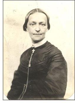 Phebe Hanaford, c. 1868.