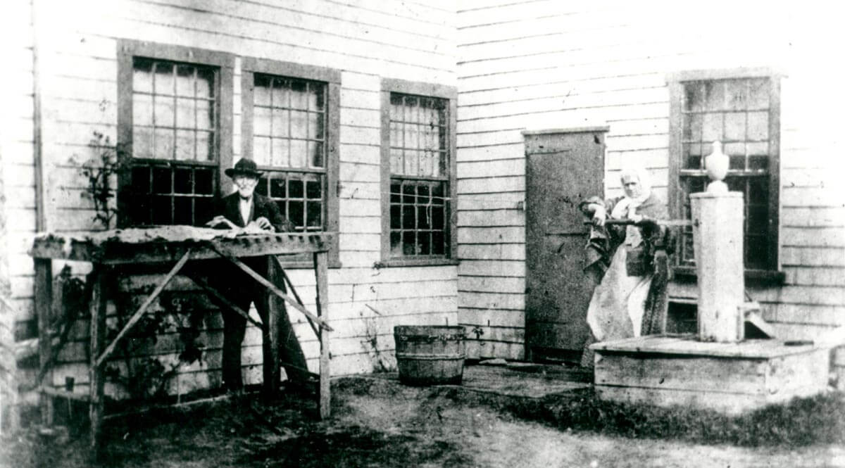 1800 House, ca. 1890