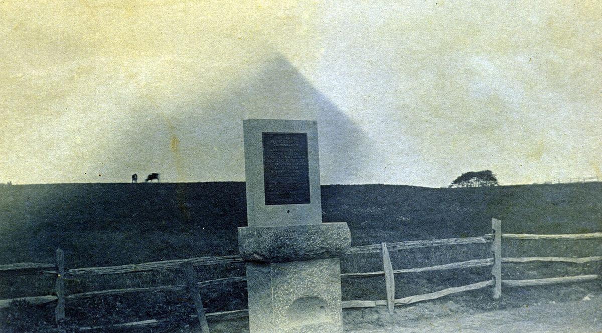 Folger-Franklin Memorial, 1890s