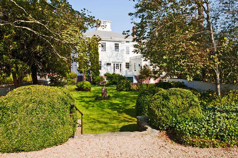Hadwen House Garden.