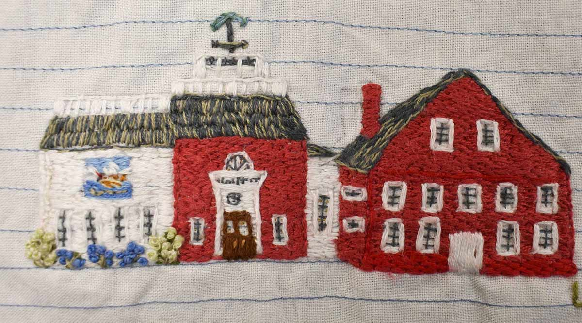 Nantucket Stitching