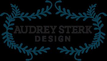 Audrey Sterk Design.
