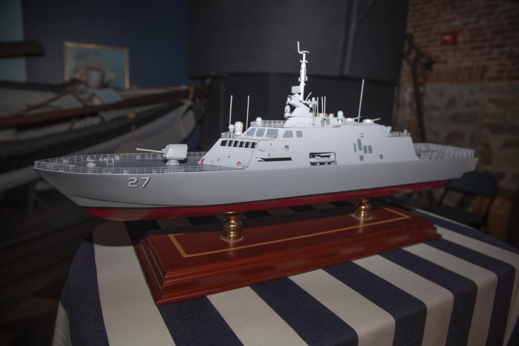 Model of the USS Nantucket
