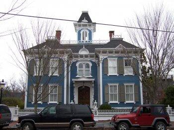 73 Main Street, the home of Eliza Starbuck Barney.