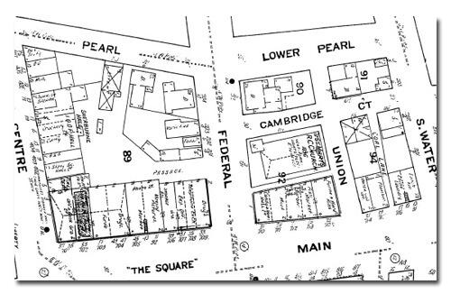 1909 Sanborn map