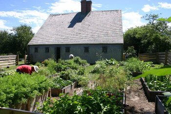 Oldest House Kitchen Garden.