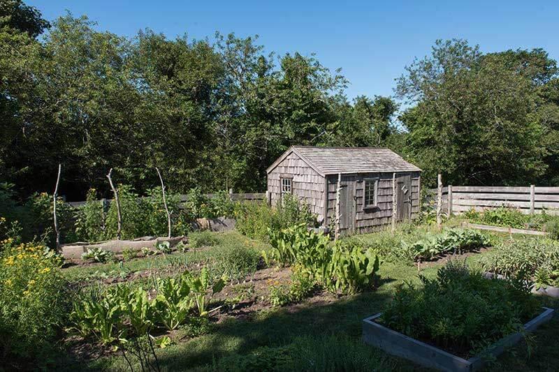 Oldest House Kitchen Garden.