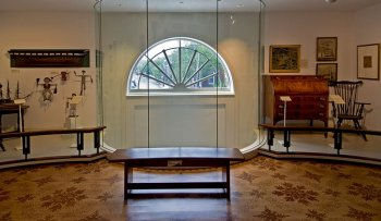 Decorative Arts Window to the Town, photographer Peter Vanderwarker