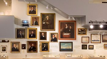 Whaling Museum Portrait Wall