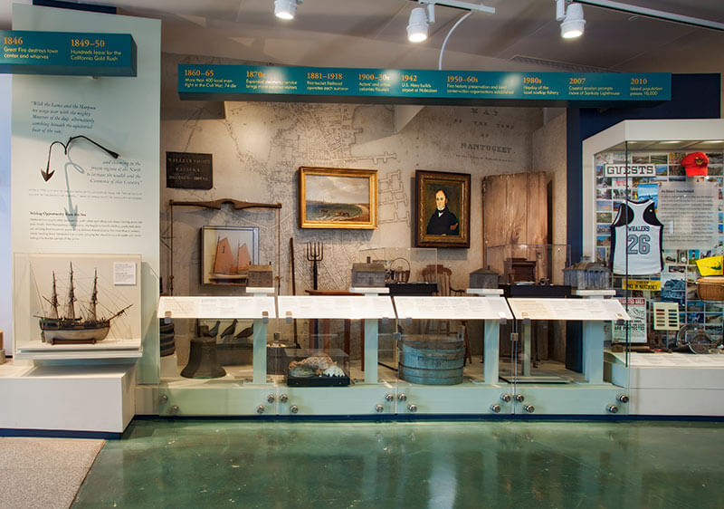 Nantucket Whaling Museum Timeline, photograph by Jeffrey Allen