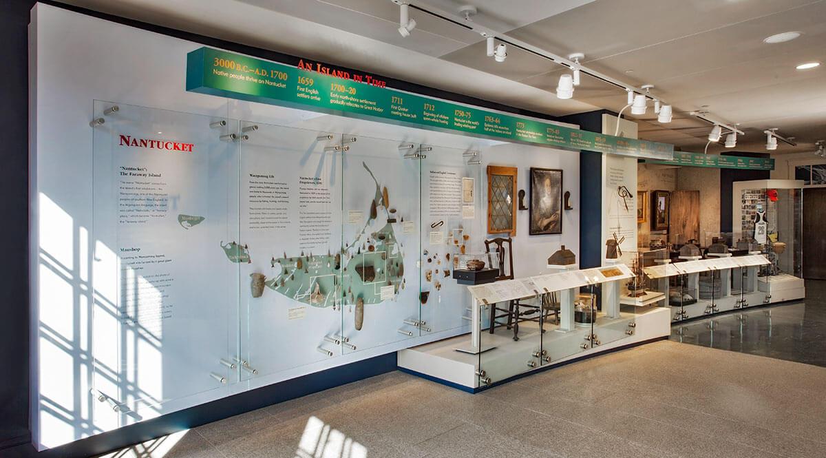 Nantucket Whaling Museum Timeline, photographer Jeffrey Allen.