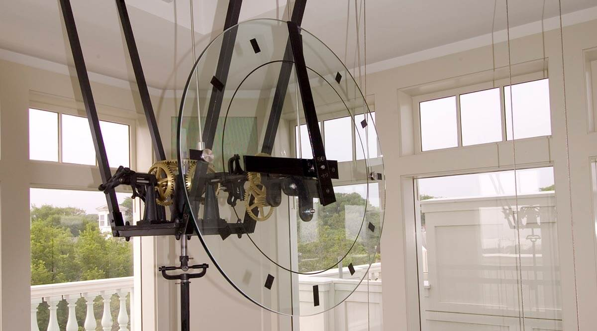 Nantucket Town Clock, photographer Peter Vanderwarker