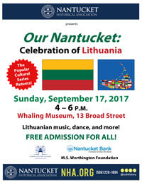 Our Nantucket Celebrates Lithuania