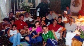 The Partida Family, 2014.