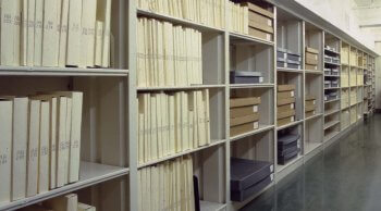 NHA Research Library vault.