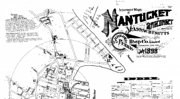 Sanborn Map of Nantucket Index, July 1898. Sheet1