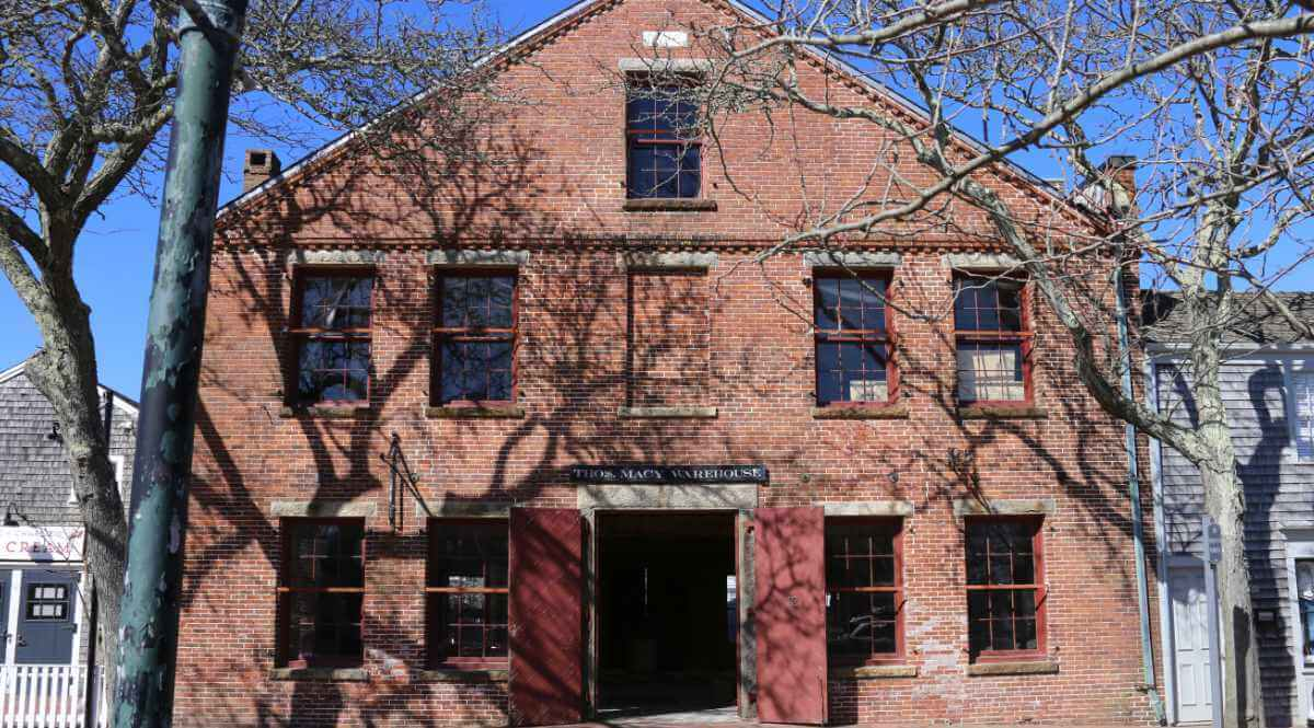 Thomas Macy Warehouse Historic two story brick building