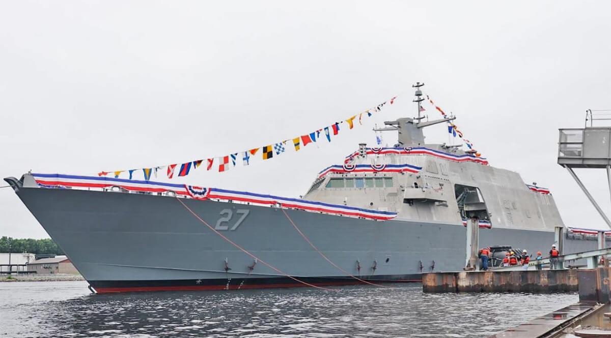 USS Nantucket (LCS27) Christening, August 7, 2021