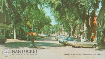 Lower Main Street Nantucket