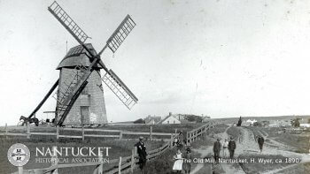 The Old Mill Nantucket, H. Wyer, ca. 1890