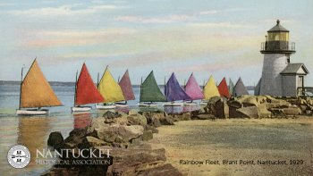 Rainbow Fleet, Brant Point, Nantucket, 1929