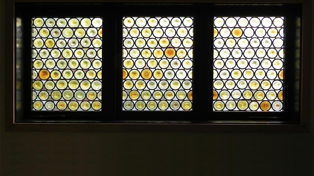 Leaded Colored-glass Windows