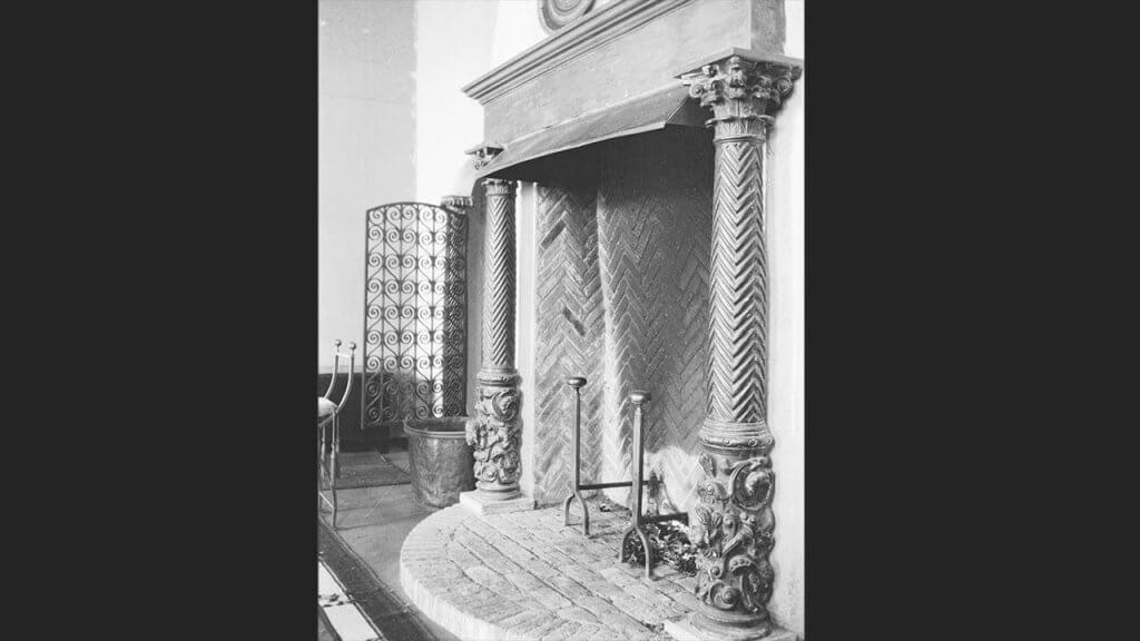Fireplace of Italian Design