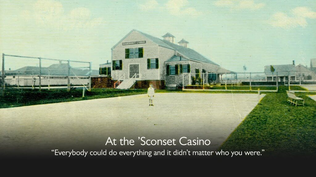 At the 'Sconset Casino